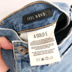 Agolde Jeans - AGOLDE Feel Good Light Wash High Rise Jeans 27
